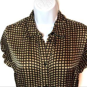 Ben Sherman Silk Button Down Shirt